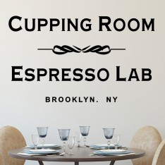 Sticker Cupping Room
