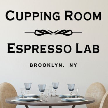 Sticker Cupping Room - stickers new york & stickers muraux - fanastick.com