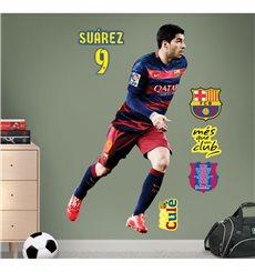 Sticker FC Barcelone - Luis Suarez 120cm®