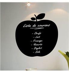 Sticker ardoise pomme