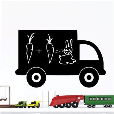 Sticker ardoise camion - stickers ardoise & stickers muraux - fanastick.com