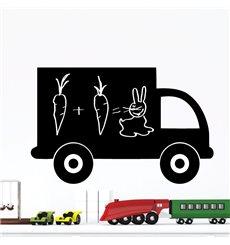 Sticker ardoise camion