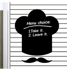 Sticker Ardoise chapeau du chef