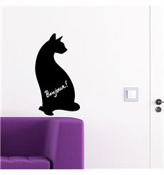 Sticker Ardoise chat