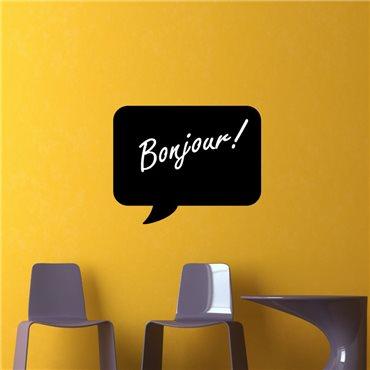 Sticker ardoise Bulle - stickers ardoise & stickers muraux - fanastick.com