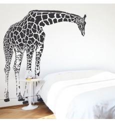 Sticker Girafe penchée