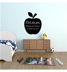 Sticker ardoise Design pomme