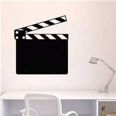 Sticker ardoise Clap de cinéma