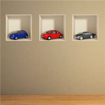 Sticker effet 3D voitures - stickers effets 3d & stickers muraux - fanastick.com