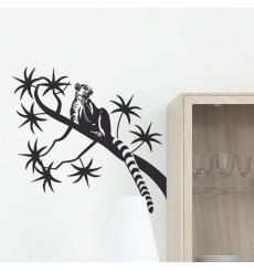 Sticker Lémurien