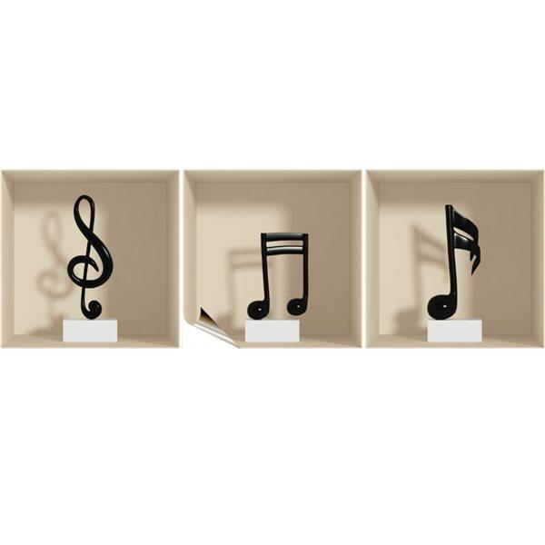 Stickers Notes De Musique Stickers Frises Pour Voiture Pas