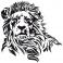 Sticker Lion - stickers animaux & stickers muraux - fanastick.com