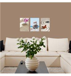 Sticker ZEN Kit de 3 modèles de zen