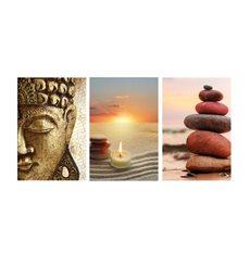 Sticker ZEN Kit de 3 zen conçoit avec Bouddha
