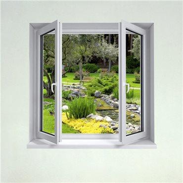 beautiful image trompe oeil jardin ideas awesome interior home satellite. Black Bedroom Furniture Sets. Home Design Ideas