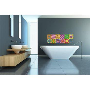 Sticker pour carrelage Multicouleurs 2 - stickers design & stickers muraux - fanastick.com