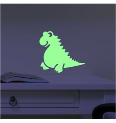 Sticker phosphorescents Dinos