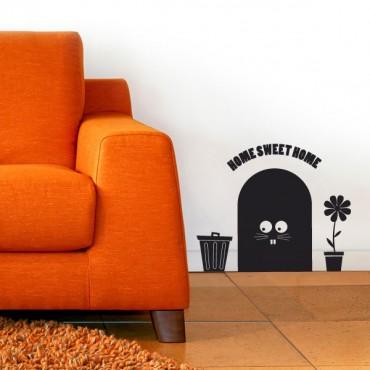 Sticker Maison de la souris - stickers animaux & stickers muraux - fanastick.com