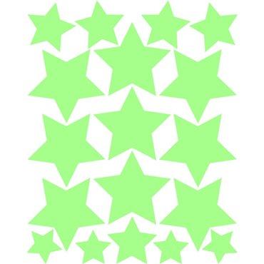 Sticker étoiles phosphorescentes - stickers phosphorescent & stickers muraux - fanastick.com