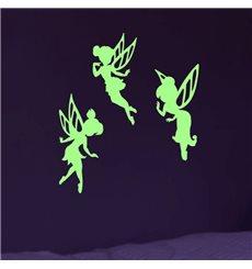 Sticker Phosphorescent Fées