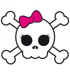 Sticker Skull girl