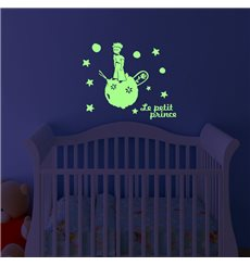 Sticker phosphorescent Le petit prince