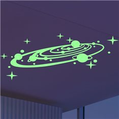 Sticker Phosphorescent La galaxie