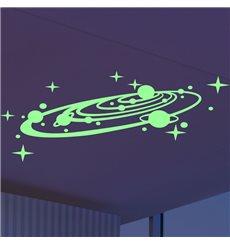 Sticker Phosphorescent La galaxie