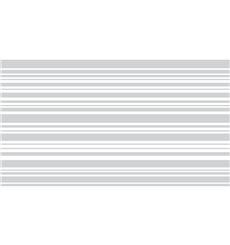 Sticker vinyle sablé pour vitre - lignes horizontales 100x55cm