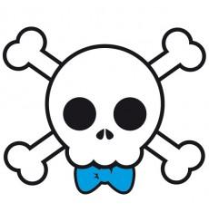 Sticker Skull boy