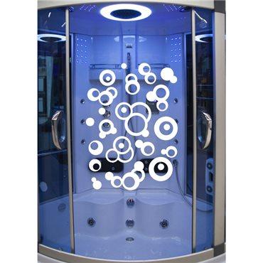 Sticker bulles - stickers salle de bain & stickers muraux - fanastick.com