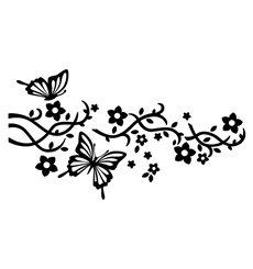 Sticker Papillons pour crochets
