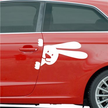 Sticker Lapin - stickers animaux & stickers muraux - fanastick.com