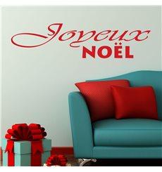 Sticker Joyeux Noël - français