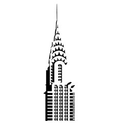 Sticker Chrysler building