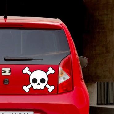Sticker Skull - stickers tête de mort & stickers muraux - fanastick.com
