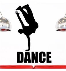 Sticker danseur de hip-hop