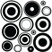 Sticker cercles - stickers design & stickers muraux - fanastick.com