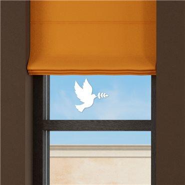 Sticker électrostatiques colombe - stickers vitre & stickers muraux - fanastick.com