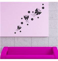 Sticker Papillons flux