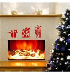 Sticker Cadeaux de Noël design