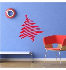 Sticker Arbre de Noël Pop Art