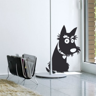 Sticker Scottish terrier - stickers animaux & stickers muraux - fanastick.com