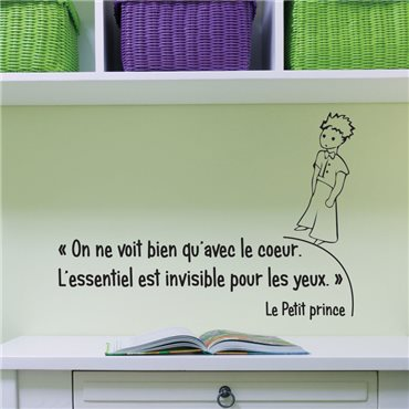 Sticker Le petit Prince 2 - stickers citations & stickers muraux - fanastick.com