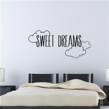 Sticker Sweet Dreams - stickers citations & stickers muraux - fanastick.com