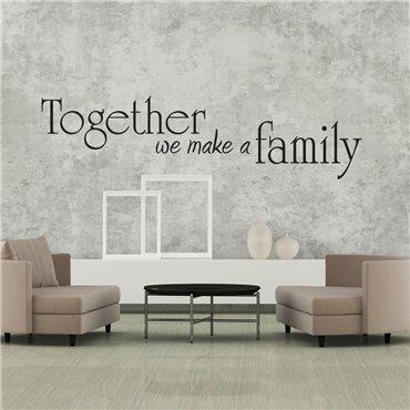 Sticker Together - stickers citations & stickers muraux - fanastick.com
