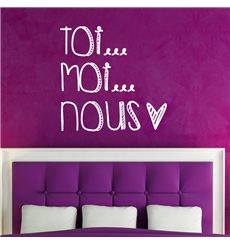 Sticker Toi Moi Nous