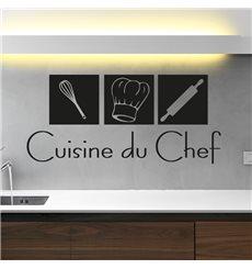 Sticker déco Cuisine du Chef