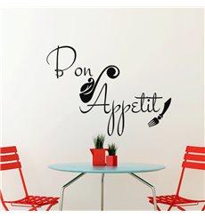 Sticker Cuisine Bon appetit artistique