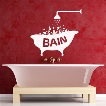 Sticker Design Salle de bain - stickers salle de bain & stickers muraux - fanastick.com